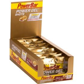 PowerBar PowerGel Shots Box Beutel Cola mit Koffein 16 x 60g